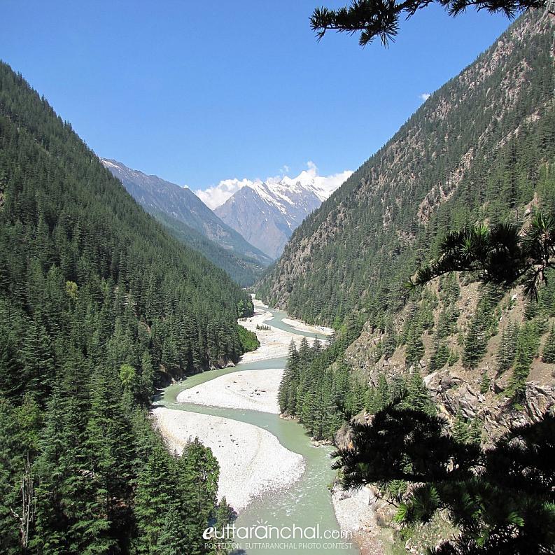 Beautiful Bhagirathi valley