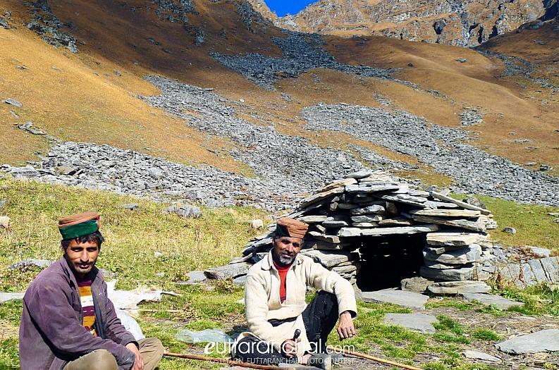 Shepherds near Rashi Buggyal