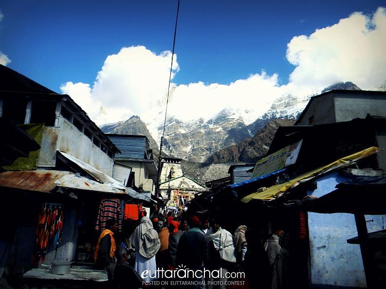 Kedarnath………………4 years back :(