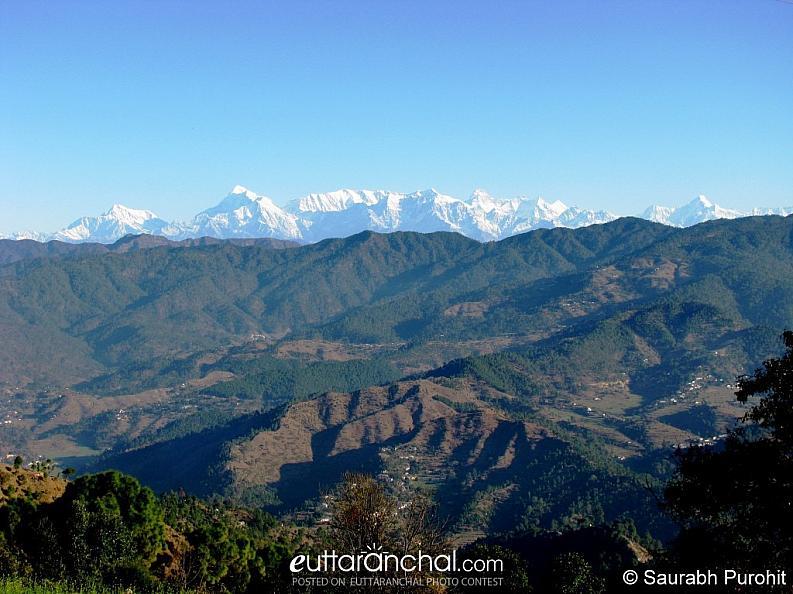 View from  Majkhali Village