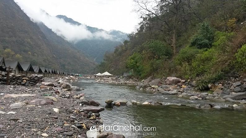 Rafting Camps near Rishikesh