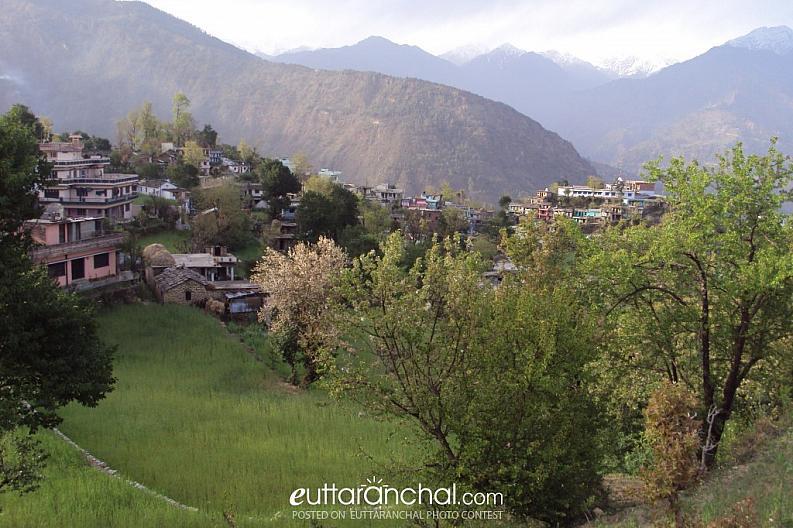 Village in Kedarghati