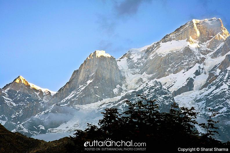 View of Kedar nath peak