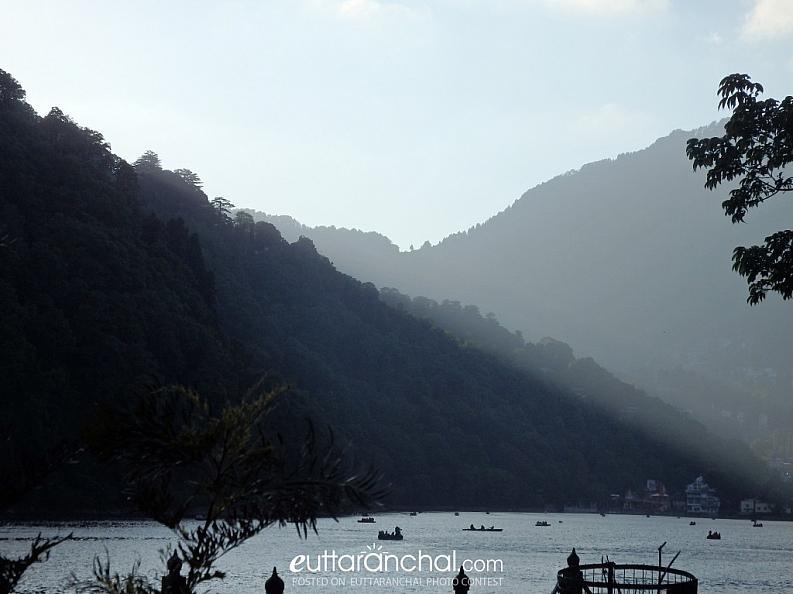 The Naini Lake before the Sunset