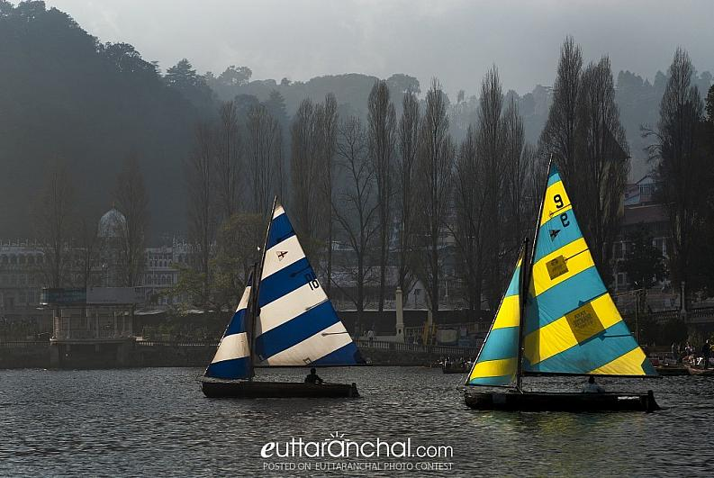 Yatch at Nanital