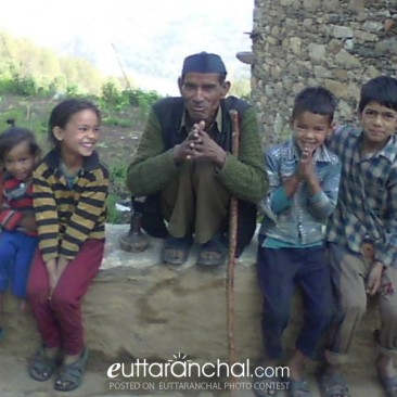 (dalit) low caste uncle with high caste childrens
