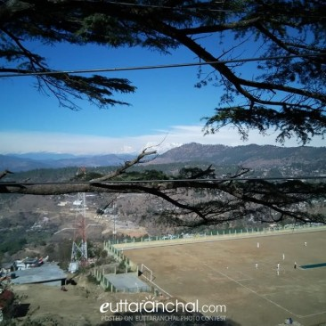 Playing is a bliss here- Almora Stadium