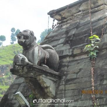 The Gargoylic Lions on the Bagnath Mandir, Bageshwar