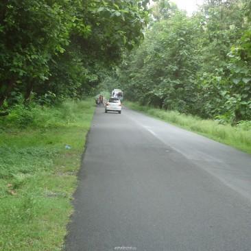 Ramnagar to Garjia  Road