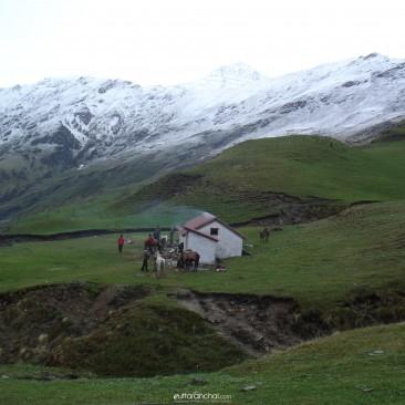 In the lap of Himalayas at Bedini Bugyal