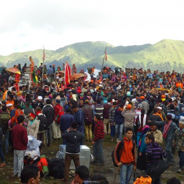 Nanda Devi Rajjaat 2014 at Bedini Bugyal
