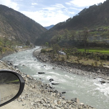 Uttarkashi towards Gangotri