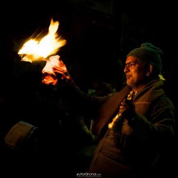 Worship, at Haridwar