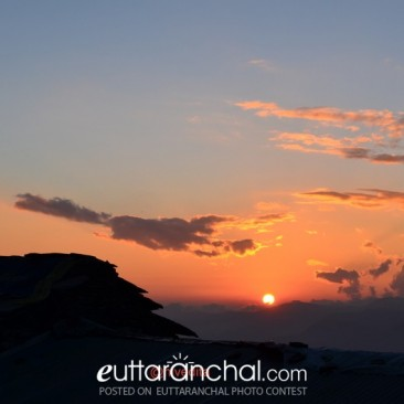 Sunrise Chopta Hill Top