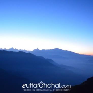 Sunrise from Chopta