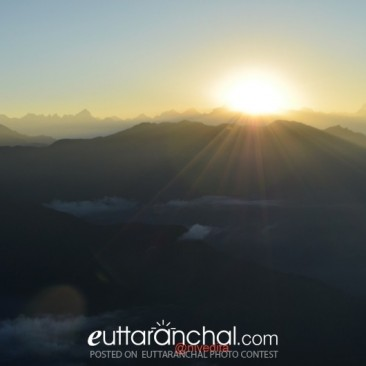 Sunrise from Chopta