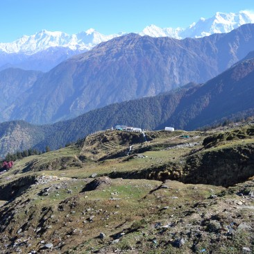 Valleys near Tungnath