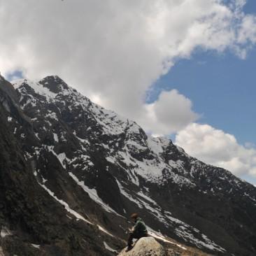 Climbing Kedar