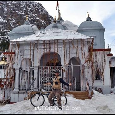 Gangotri in winters