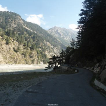 Way to Gangotri Temple from Harshil