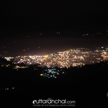 Night view of Almora
