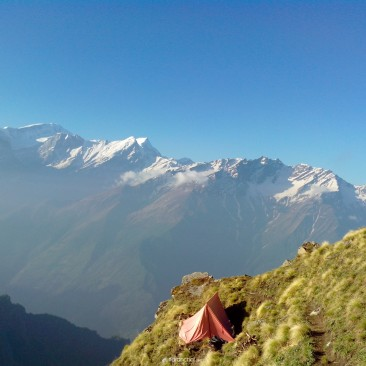 Perfect place to put a tent (Zindagi Milegi Na dobara)