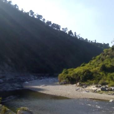Marine Drive in Uttrakhand