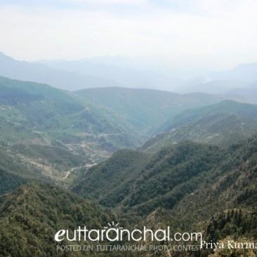 View From Kartik Swami