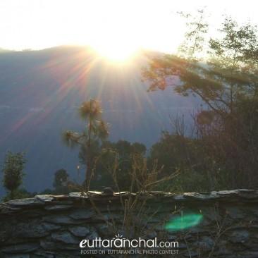 Sunrise from Mahargaon