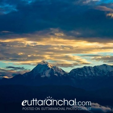 Early morning in Kausani