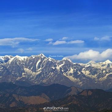 The Himalayas from Kausani