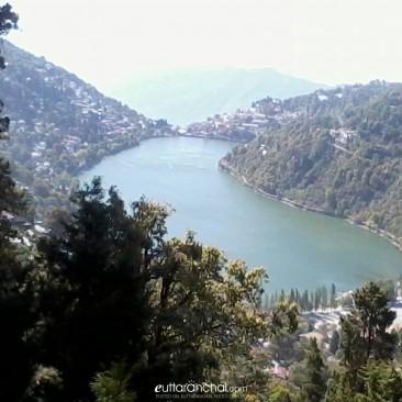Naina Lake Top view