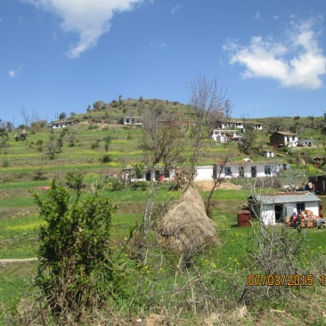 Village showing natural Uttaranchal sanskriti