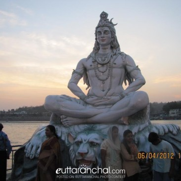 Lord Shiva Blessing the world