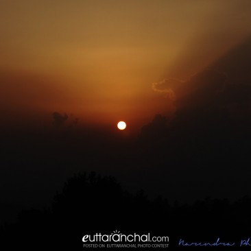 Sunset at Mukteshwar