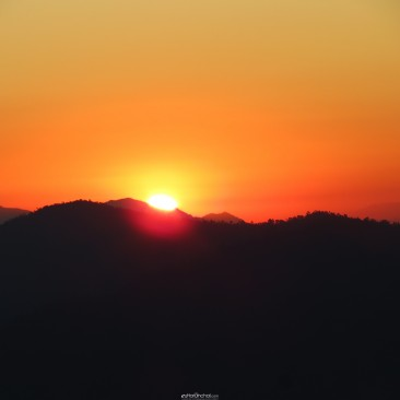 Sunrise in Binsar