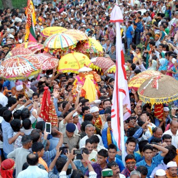 Nandkeshri a level in Traditiobal Nada Devi Rajjat Yatra
