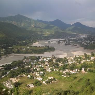 Beautiful valley of Srinagar garhwal