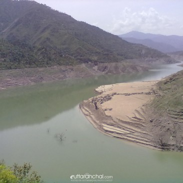 Tehri drowned city