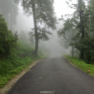 On the way of Chopta