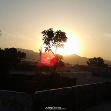 Sunrise from Haldwani