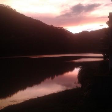 Sunset from Bhimtal