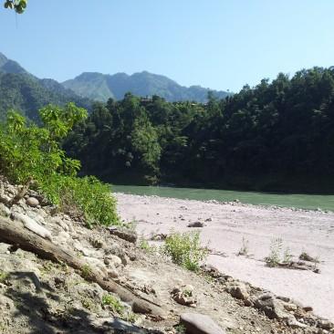 Ganga view from Arundhati's gufa