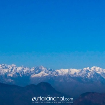 The Himalayas from Lohaghat