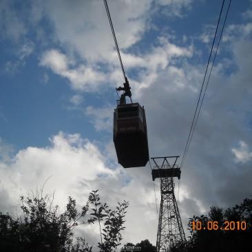 Ropeway in Auli Joshimath