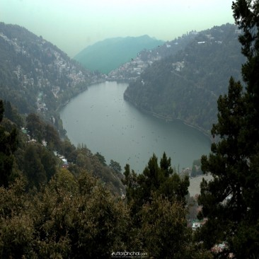 Nainital- A bird eye view