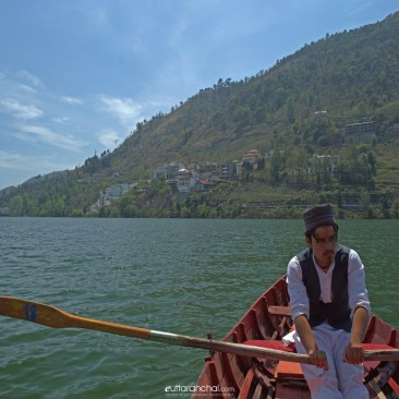 Boatman at bhimtal