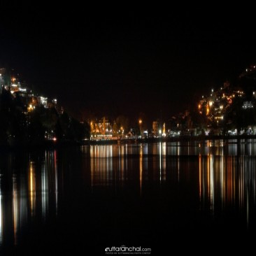 Nightscape of nainital