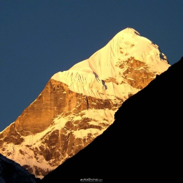 The Neelkanth Peak at Sunrise