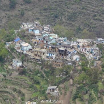 Garh village . Khirsu